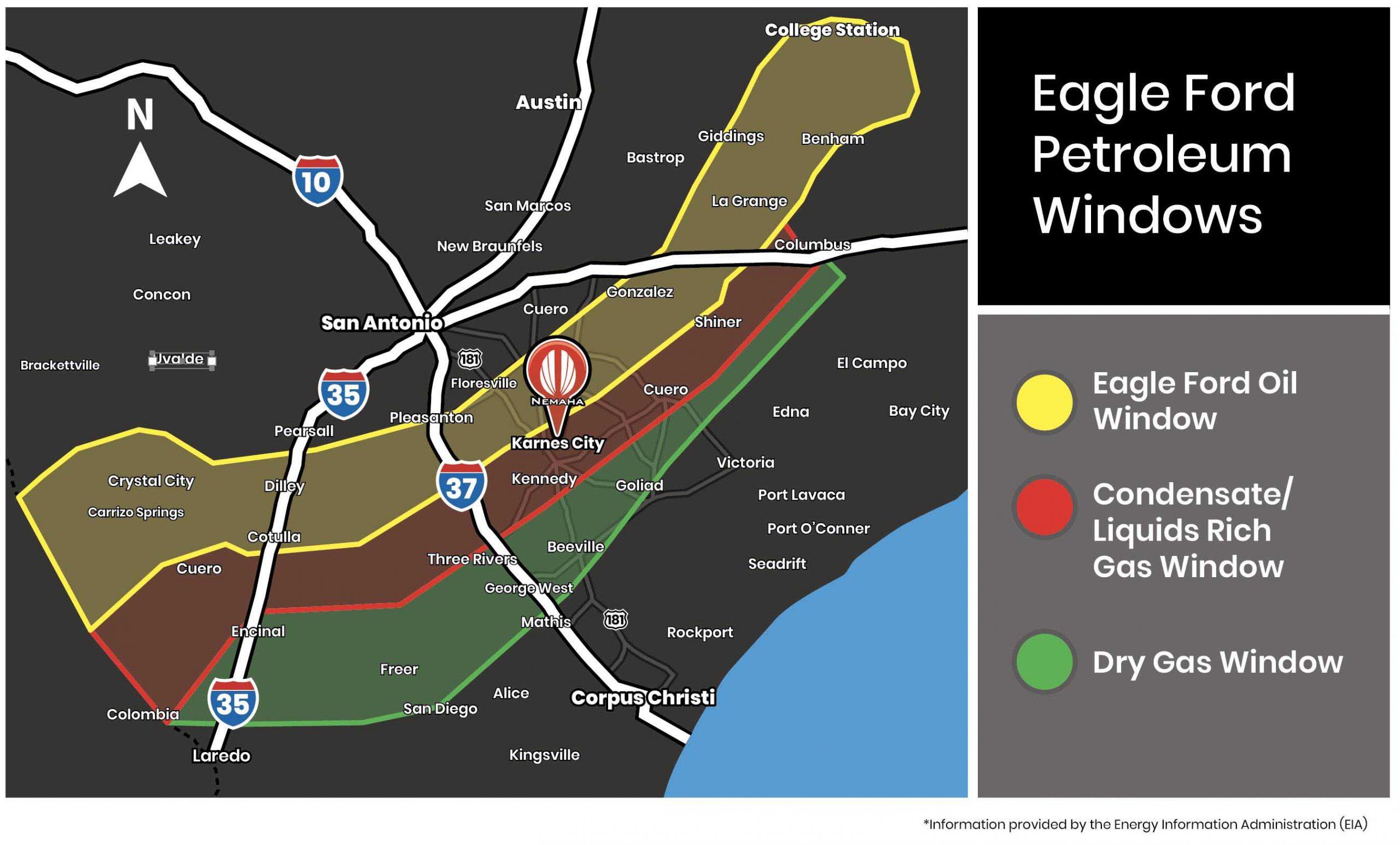 Petroleum Map